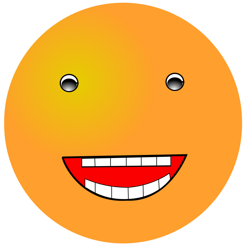 Free Smiley: Laugh