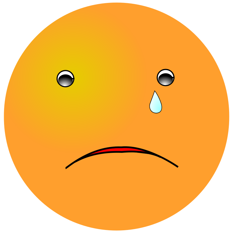 free clipart smiley cry nicubunu rh 1001freedownloads com
