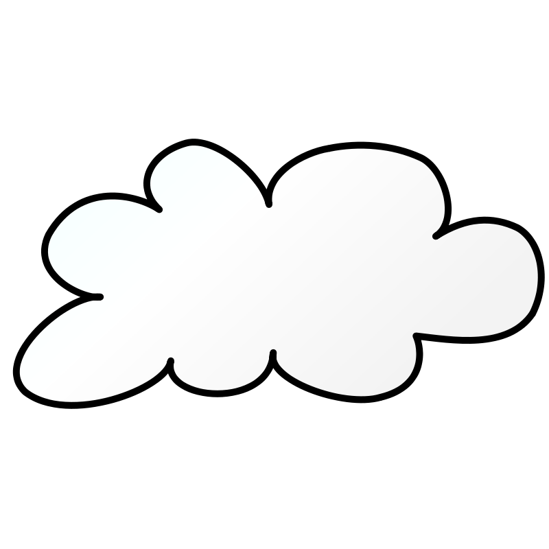 Free Weather Symbols: Cloud