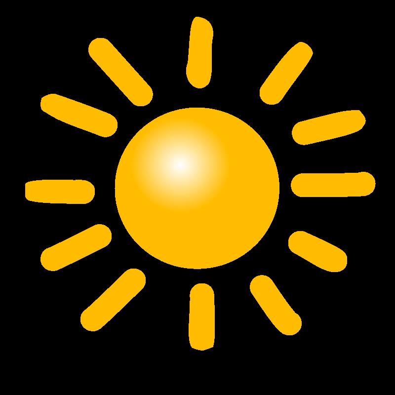 Free Clipart: Weather Symbols: Sun | nicubunu