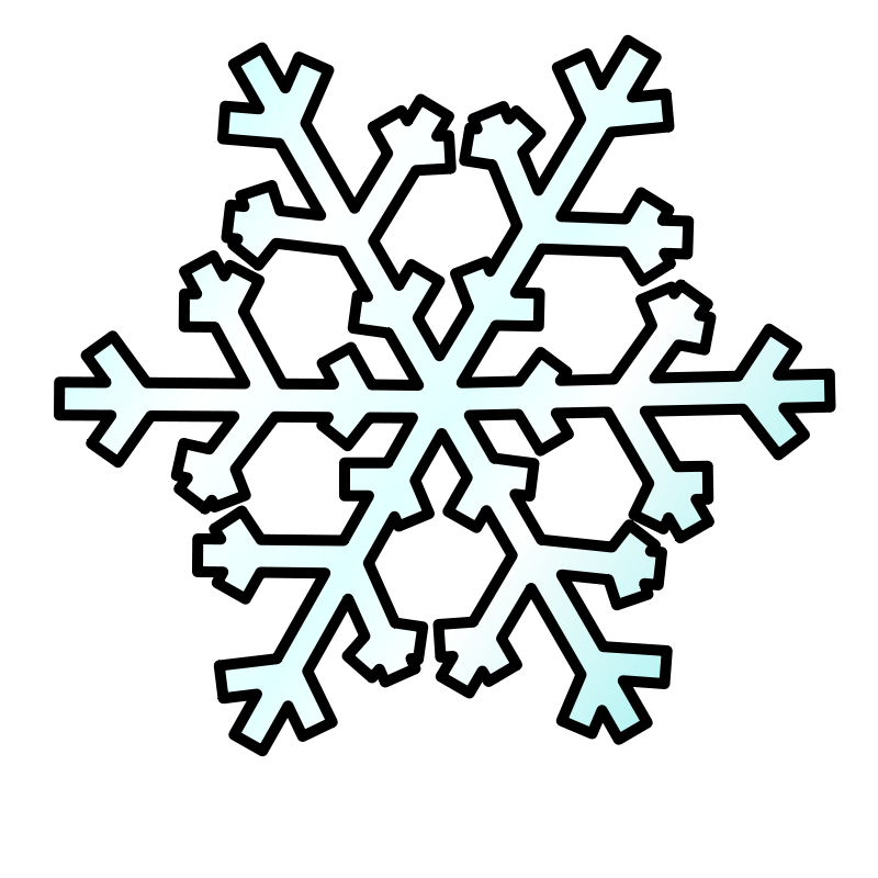 Free Weather Symbols: Snow