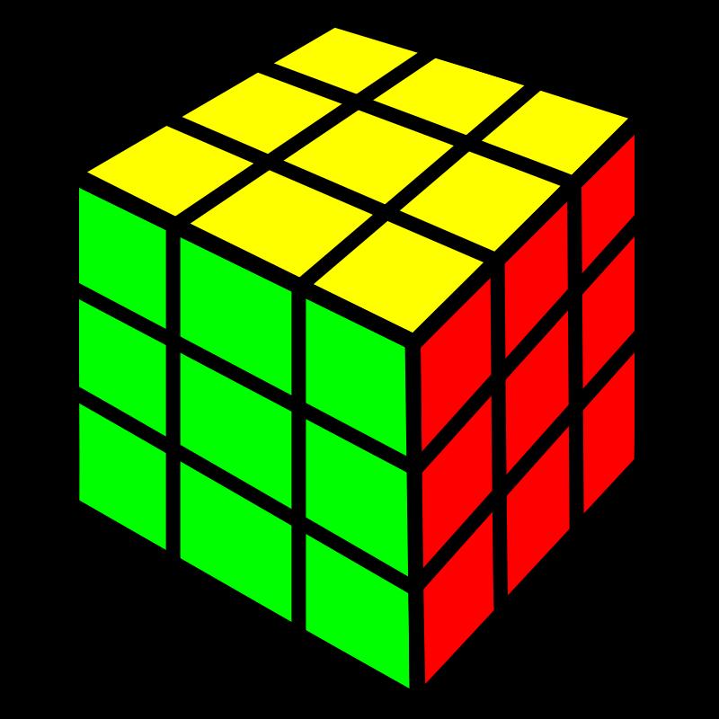 Free Rubik cube