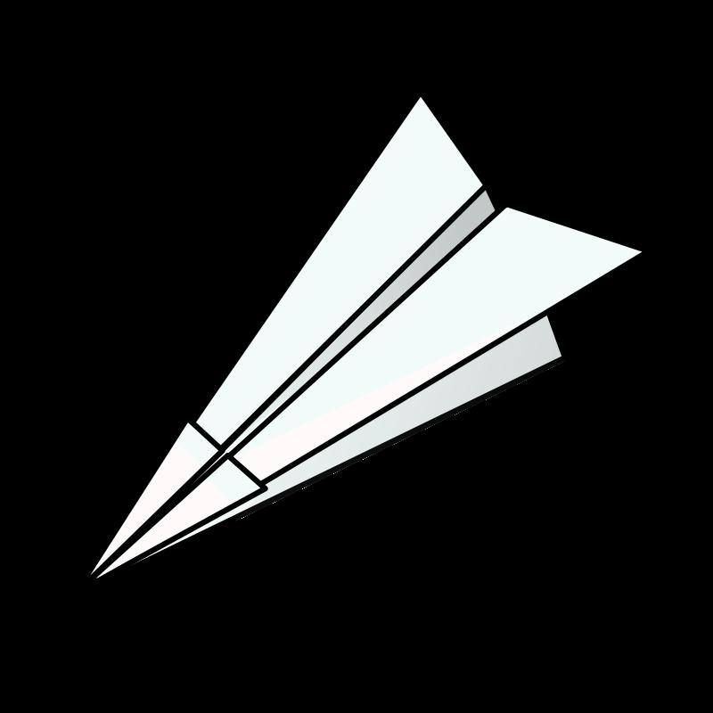 Free Clipart: Paper plane | nicubunu