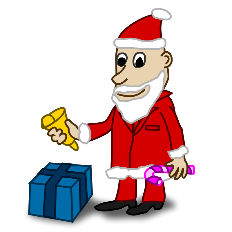 Free Comic characters: Santa