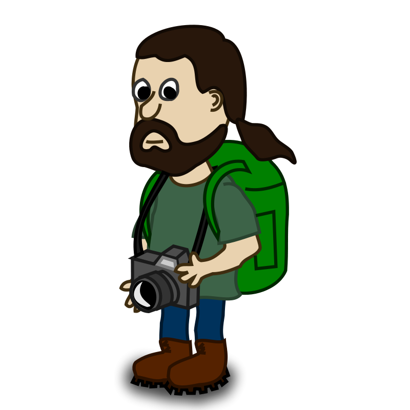 Free Comic characters: Trekker