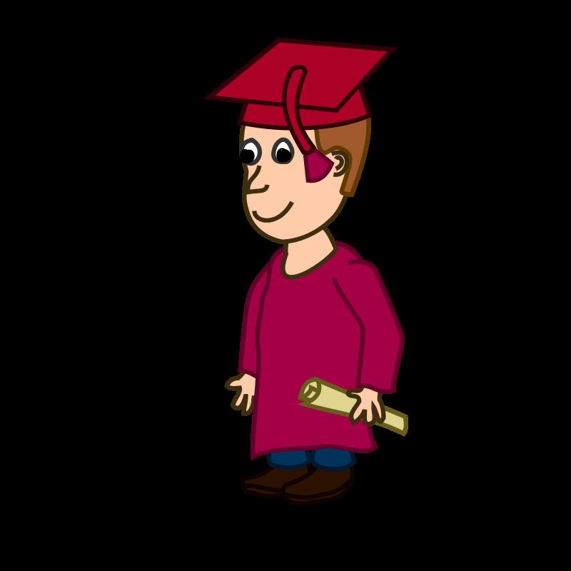 Free Comic characters: Graduated