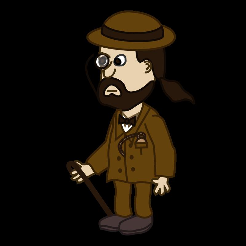 Free Comic characters: Gentelman