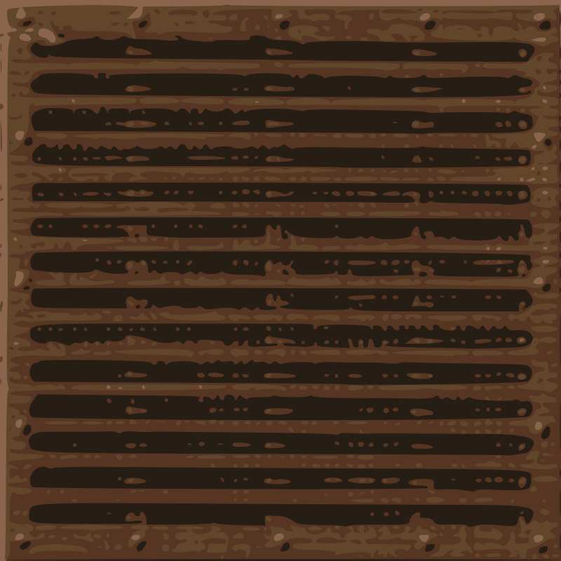 Free Map Tile - Metal Grill - 1 x 1