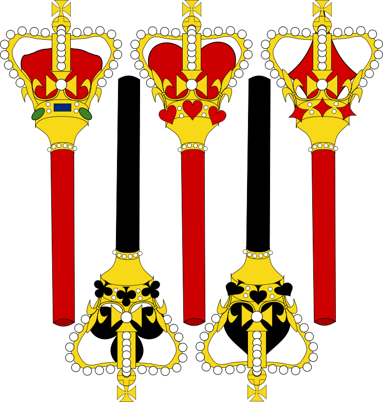 Free Stylized Sceptre for Card Faces