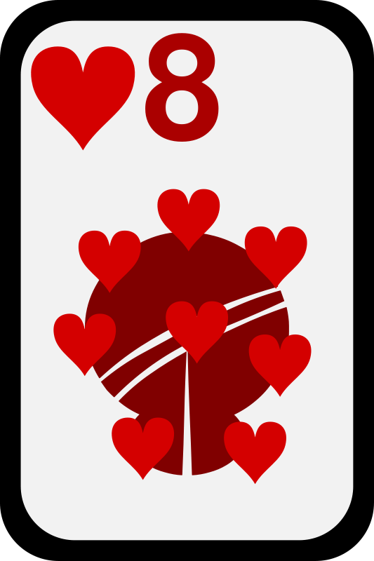 Free Eight of Hearts
