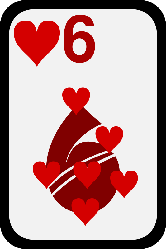 Free Six of Hearts
