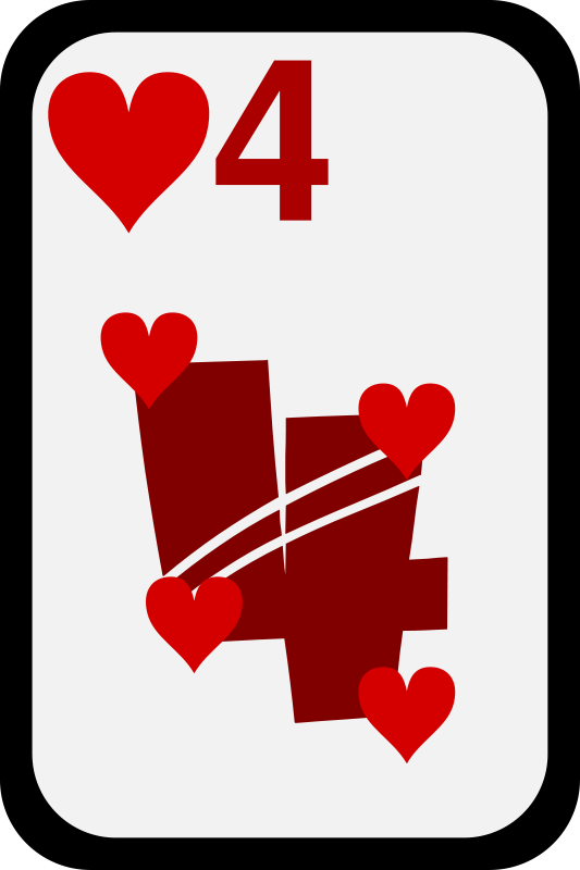 Free Four of Hearts