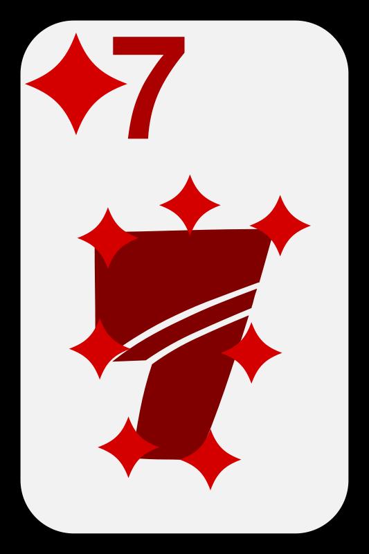 Free Seven of Diamonds