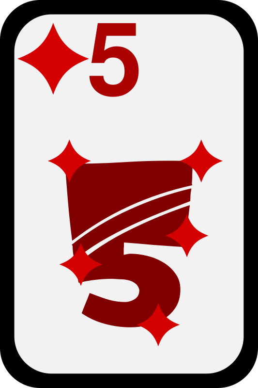 Free Five of Diamonds