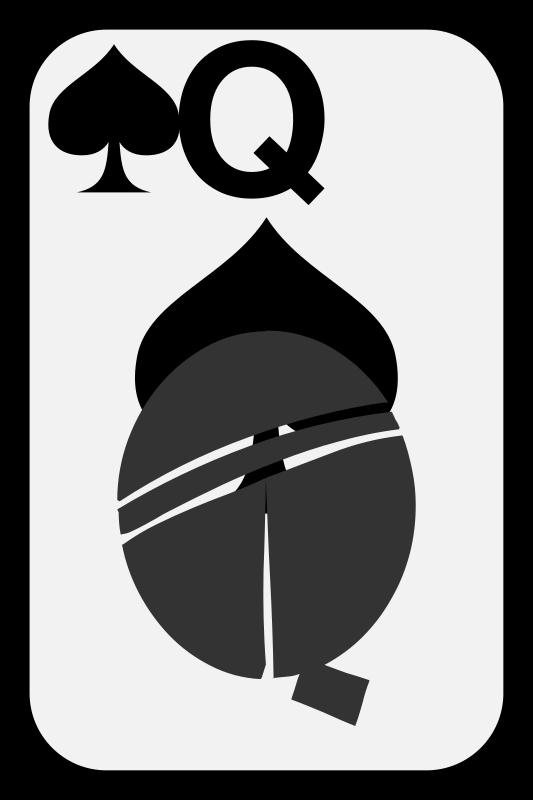 Free Queen of Spades