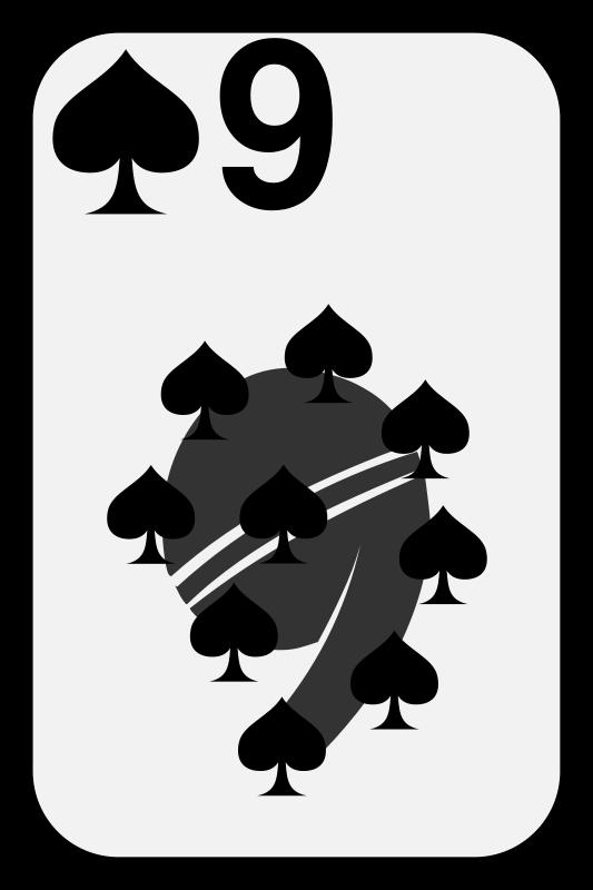 Free Nine of Spades