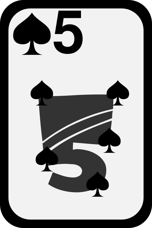 Free Five of Spades