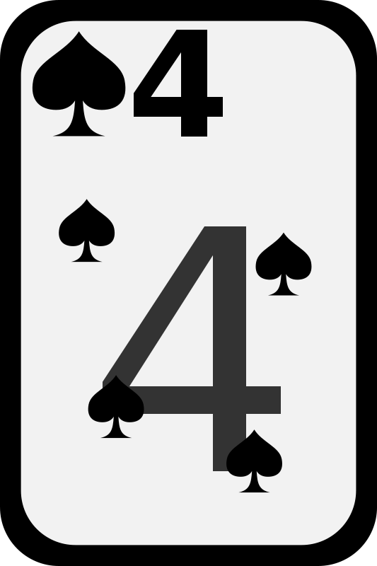 Free Four of Spades