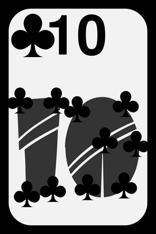 Free Ten of Clubs