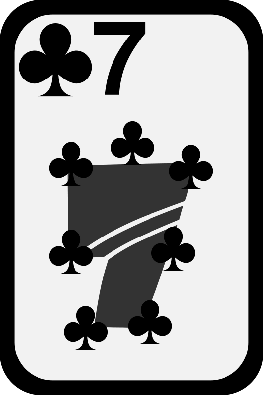 Free Seven of Clubs