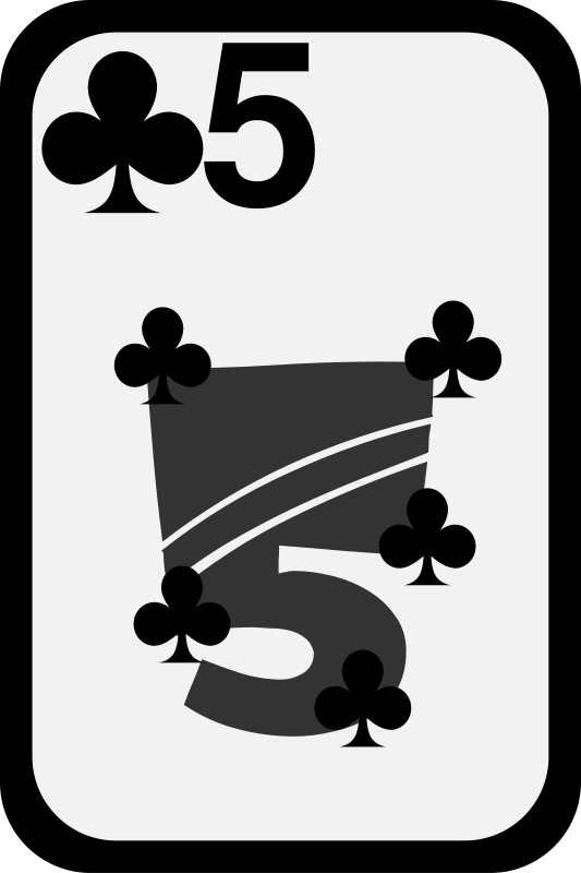 Free Five of Clubs