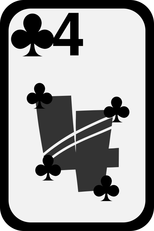 Free Four of Clubs