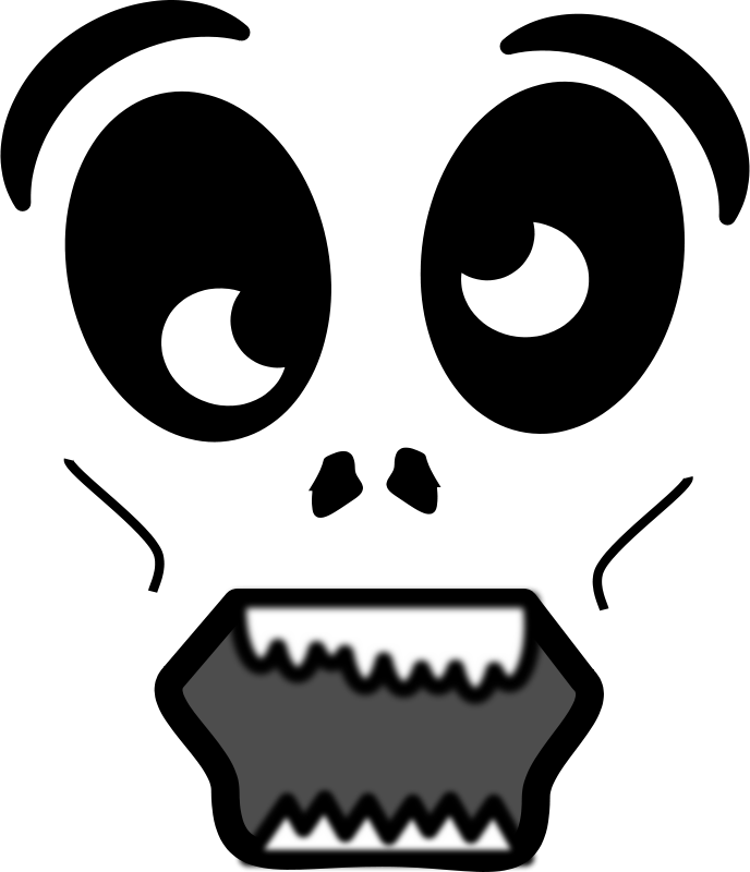 Free Cartoon Zombie Face