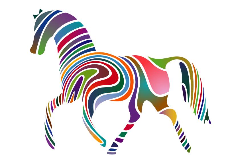 Free Waved Horse (Spring Version) 2009
