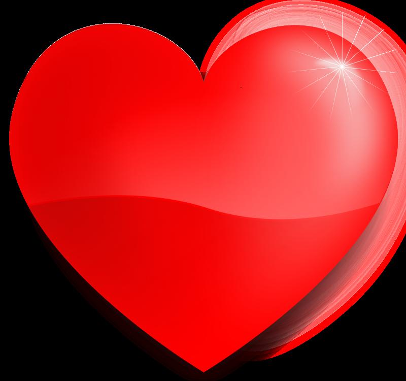 Free glossy heart