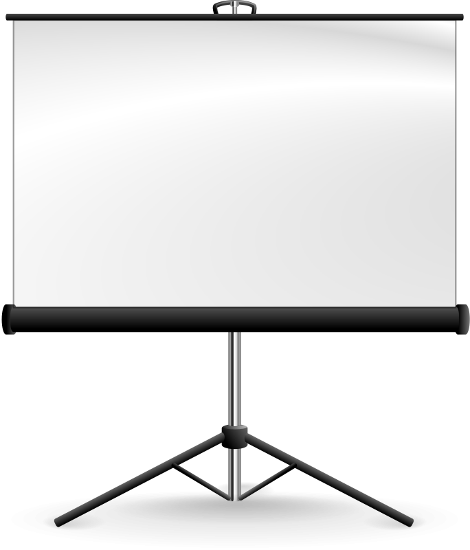 Free Portable Projection Screen
