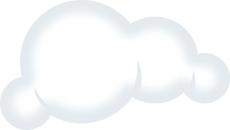 Free Set of soft clouds