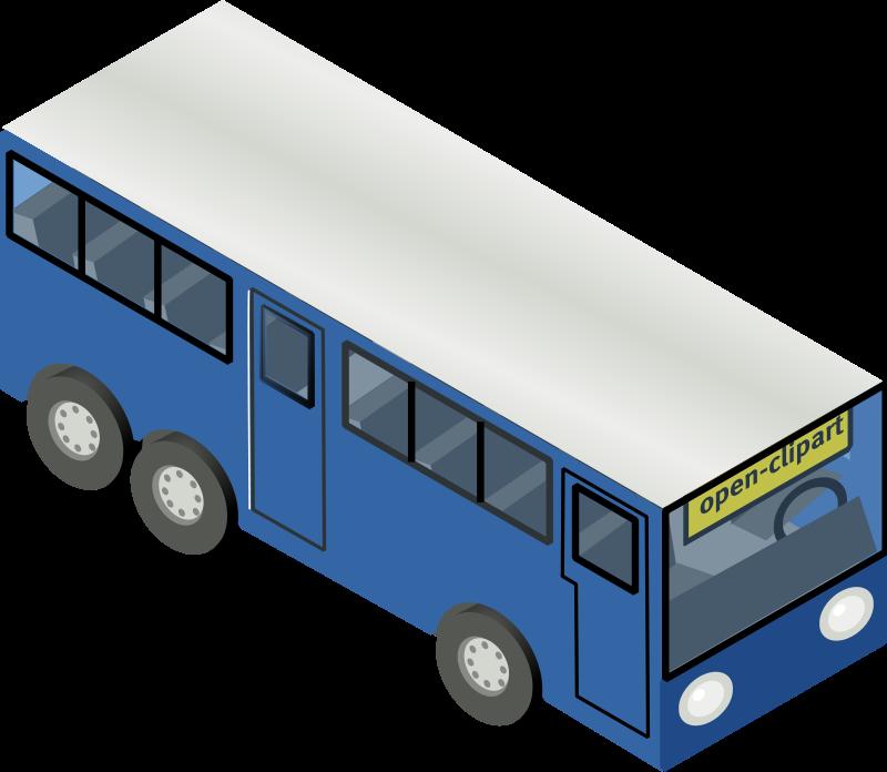 Free blue bus
