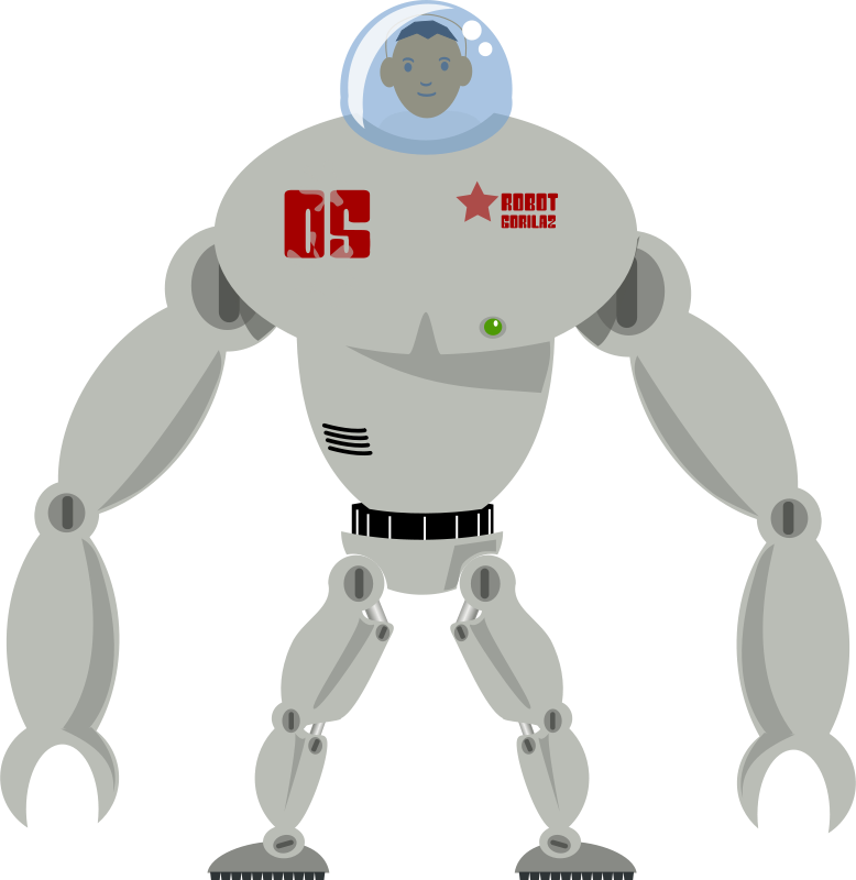 Free tripulated robot