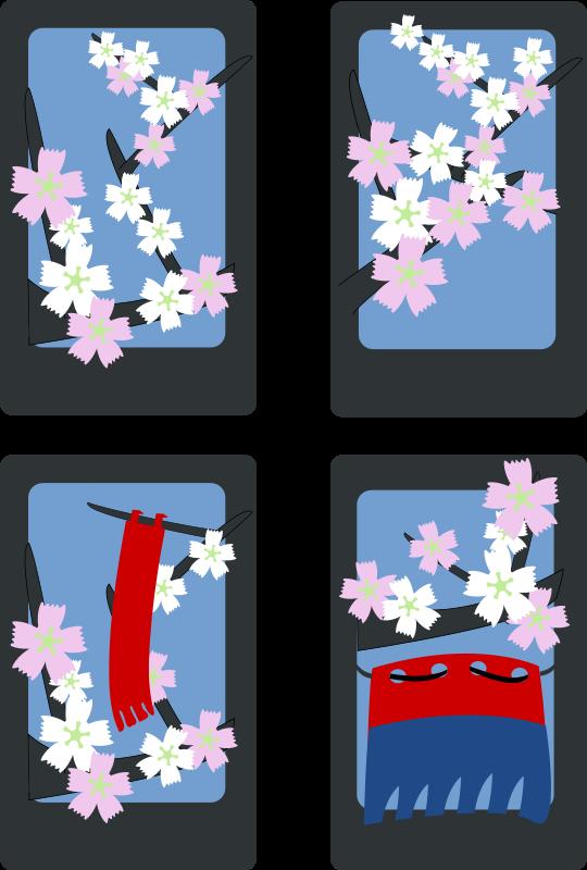 Free Hanafuda Sakura (March)