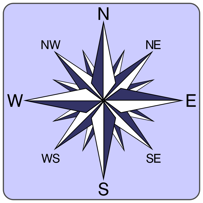 Free Wind rose icon