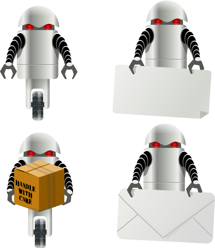 Free robot carrying things