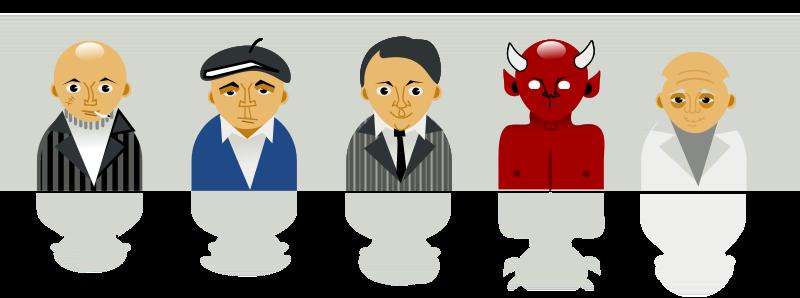 Free strange personal icons