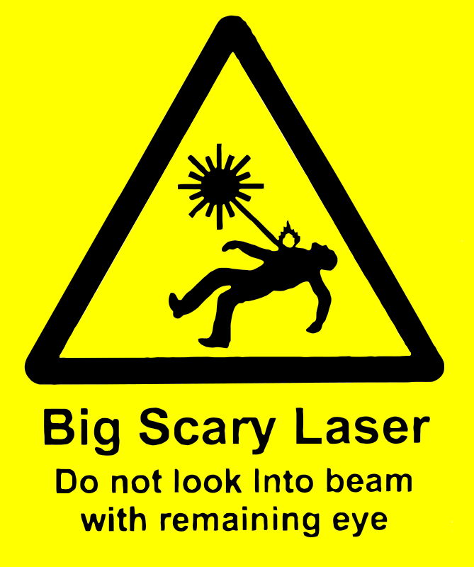 Free scary laser