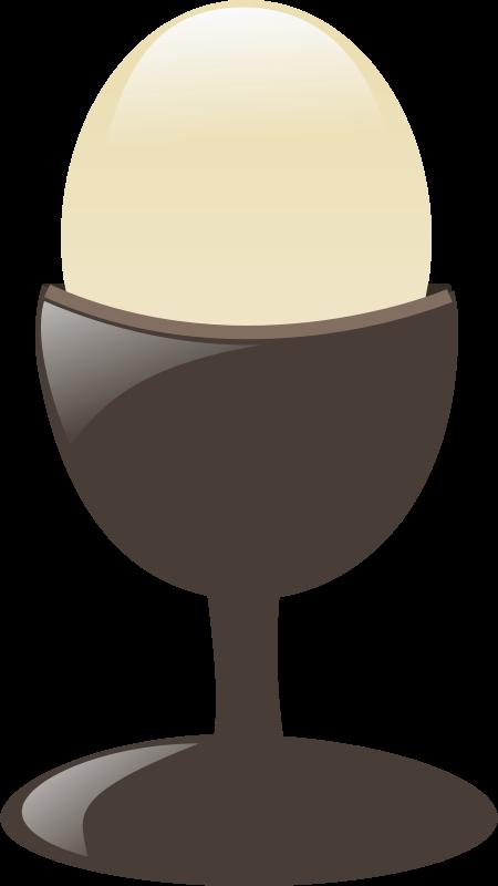 Free egg with egg-holder