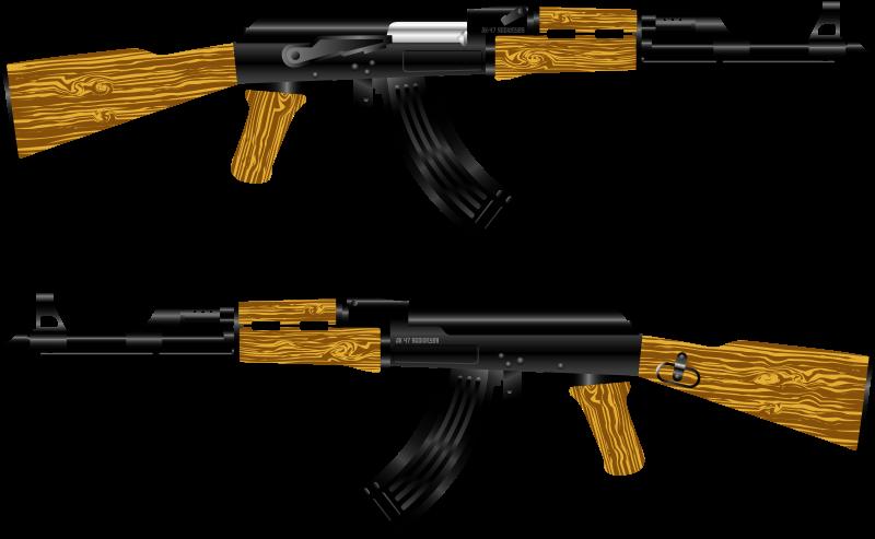Free AK 47 Rifle