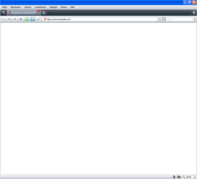 Free browser interface 0-Pera 9 winxp