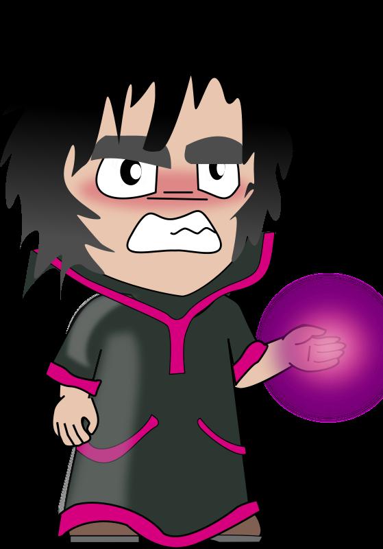 Free Sorcerer Chibi