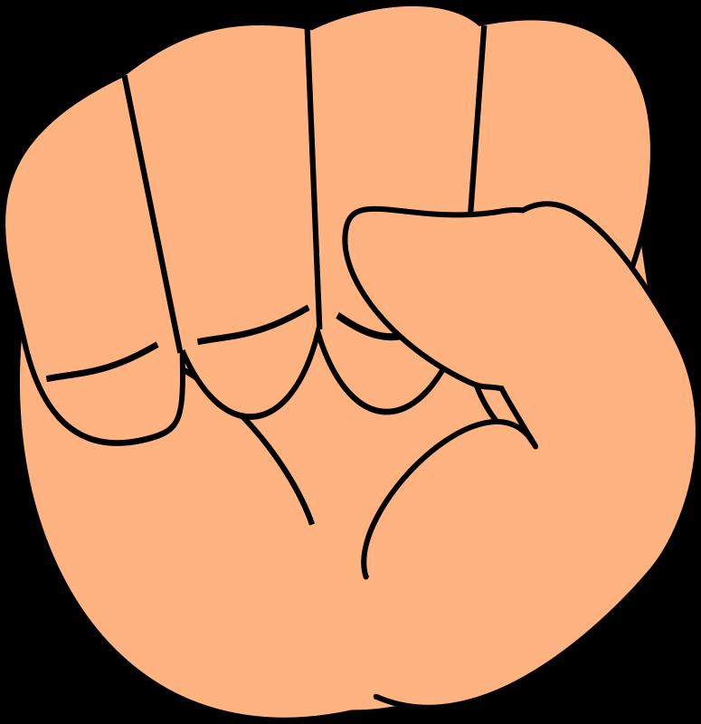 Free closed chibi hand