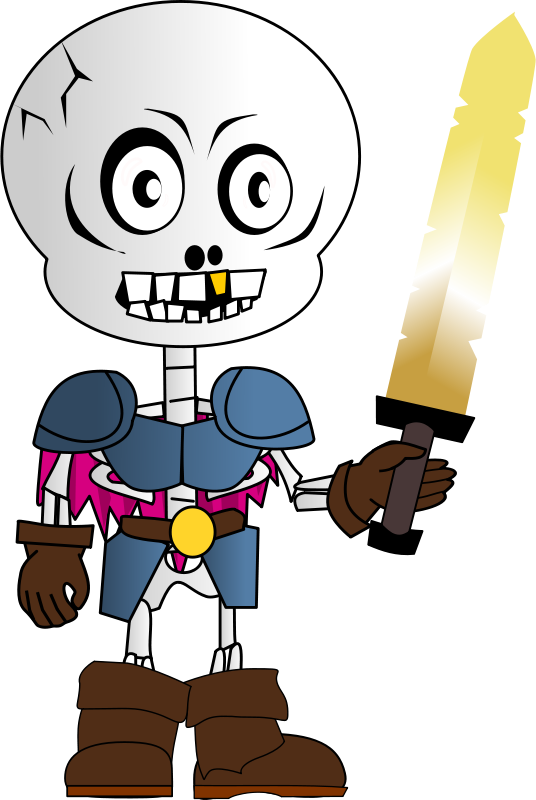 Free Skeleton Chibi