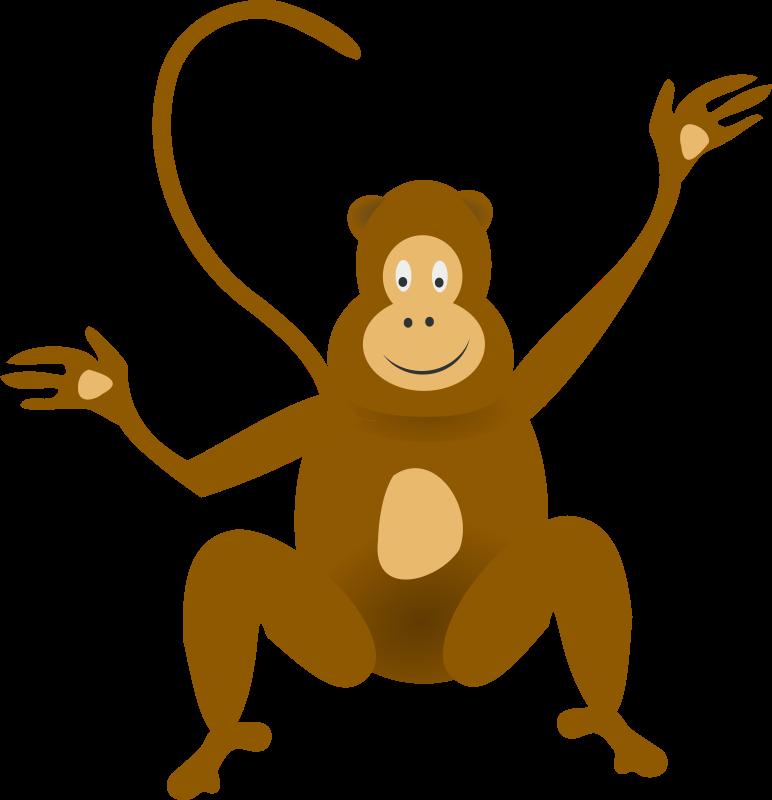 Free Clipart: Monkey | rg1024