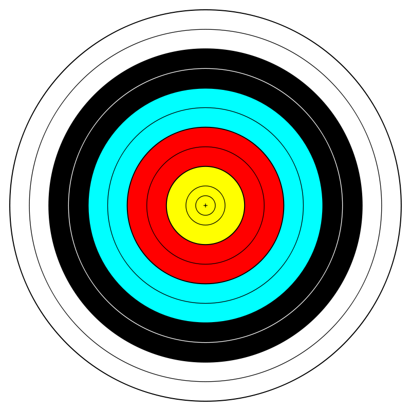 Free FITA Official Face; archery target