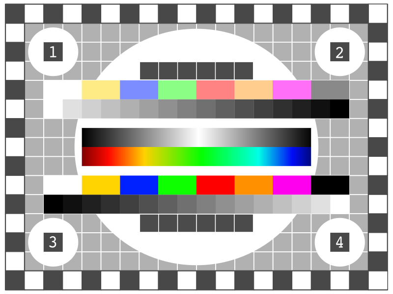 Free TV Test Screen