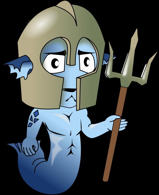 Free merman chibi