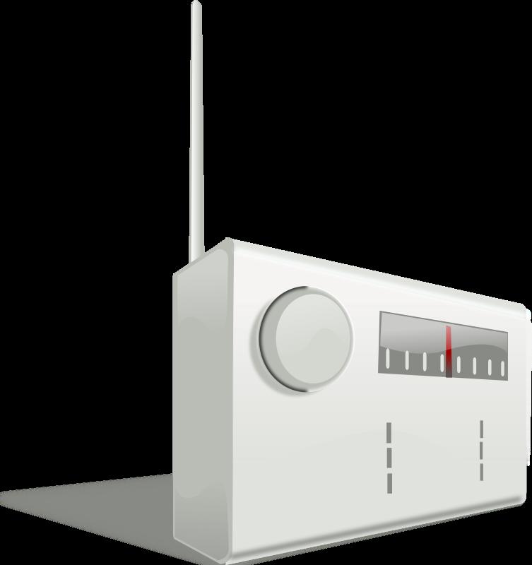 Free Clipart: Simple radio | Music | rg1024