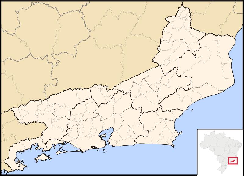 Free Mapa do Rio de Janeiro